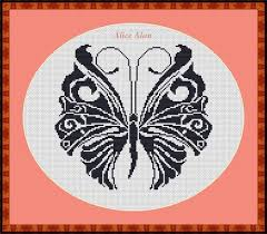 41 best cross stitch pattern butterfly insects images on