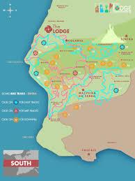 Cabo Map Mountainbike Karte