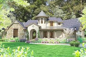 european cottage plans plan 16884wg distinctive cottage with lanai and courtyard