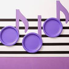 Music Note Decor Best 25 Music Notes Decorations Ideas On Pinterest Music Party