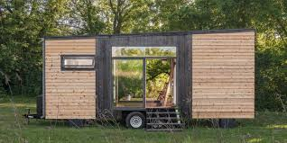 tiny cabin on wheels 10 tiny houses on wheels portable homes and trailers