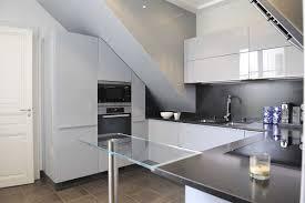 cuisine sous veranda cuisine sous pente galerie avec deco chambre ado cuisine sous