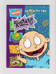 nickelodeon coloring book rugrats activity pad nickelodeon tv series characters coloring