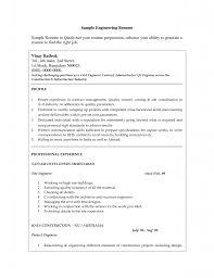 Engineering Resume Australia Sample Resume For Fresh Graduate Civil Engineering Free Resume