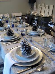 decor hanukkah table decorations with mirrored squares