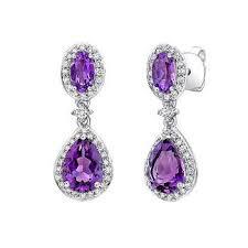 amethyst earrings amethyst earrings costco