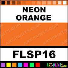 neon orange cool color spray fabric textile paints flsp16 neon