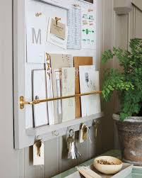entryway organizer how to martha stewart