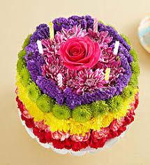 Flower Cakes Birthday Flower Cake Happy Birthday Flower Cake 1800flowers Com