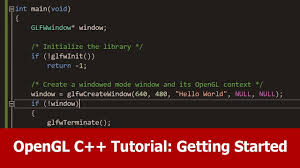 tutorial c opengl opengl c tutorial getting started youtube