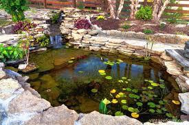 Backyard Small Pond Ideas Natural Small Pond Ideas At Your Backyard U2013 Univind Com