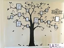 custom wall art mural examples la wall murals custom wall art family tree mural