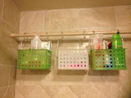 Curtain Suspension Rod Shower Storage Bins I Found At Work Shower Curtain Hooks And A