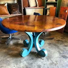 Kitchen Tables Houston by Copper Tables By Barrio Antiguo In Houston Texas