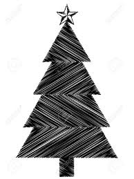 black christmas tree icon royalty free cliparts vectors and