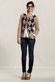 early spring fall white pants brown boots blue button up