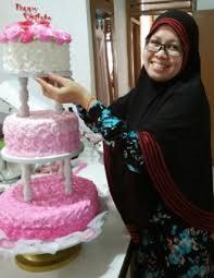 wedding cake sederhana kue pengantin wedding cake mimicicicake