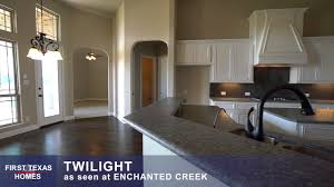 first texas homes the twilight floor plan video tour youtube