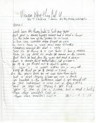 you can buy tupac u0027s handwritten lyrics for only 54 000 metrolyrics