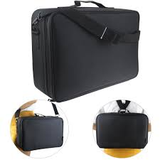 Hair And Makeup Organizer Amazon Com Travelmall 3 Layer Black Multi Functional