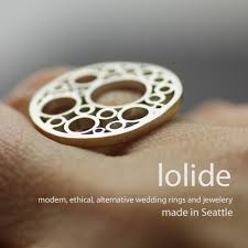 ethical wedding bands uncommon jewelry modern wedding rings forged by by lolide