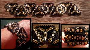 youtube bead bracelet images Beading4perfectionists 1920 39 s art deco triangle beaded bracelet jpg