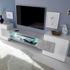 Meuble Tv Taupe Design by Meuble Tv Lumineux Large Choix De Mobilier Design Accrodesign