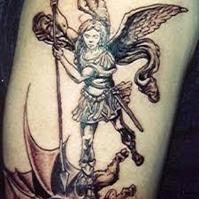 angel death tattoo men designs