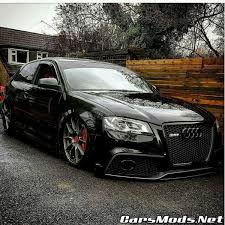 audi rs3 mods audi rs3 black stance tuning cars mods