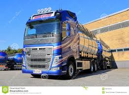 new volvo commercial new volvo fh tank truck by a warehouse editorial photo image