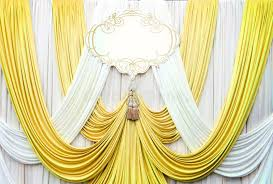 wedding backdrop background white and gold curtain backdrop background stock image image of