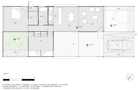 Holiday House Floor Plans by Zig Zagging Roof Covers Buenos Aires Holiday Home By Estudio Borrachia