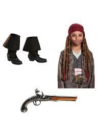 halloween jack sparrow costume dead men tell no tales jack sparrow boys costume accessory set
