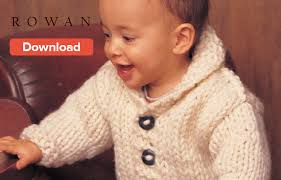 Knitting Pattern Baby Sweater Chunky Yarn | free rowan baby knitting pattern loveknitting blog