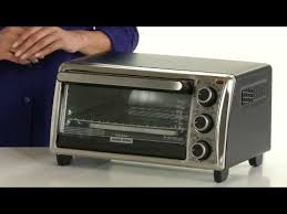 Black And Decker Home Toaster Oven Black Decker 4 Slice Toaster Oven Youtube