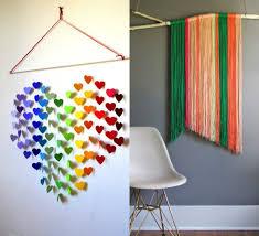 Homemade Wall Decor Handmade Wall Hangings Ideas Shenra Com
