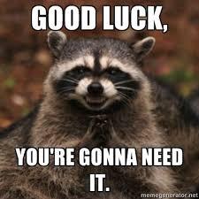 Funny Good Luck Memes - good luck animal meme luck best of the funny meme