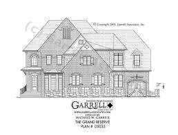 grand reserve house plan house plans by garrell associates inc