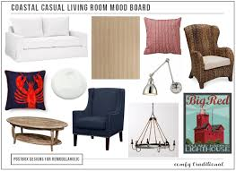 Square Living Room Layout by Remodelaholic Coastal Casual Living Room Design Tips