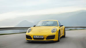 porsche yellow less is more u2013 the new porsche 911 carrera t