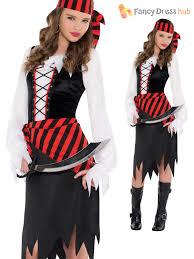 teen halloween costumes age 8 14 girls pirate caribbean fancy dress book week costume teen
