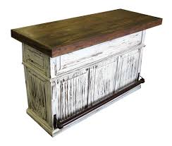 Rustic Pine Desk Antique White Painted Cantina Bar Texas Rustic Wholesale Pine