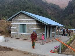 gurkha welfare trust building quake resistant home in nepal