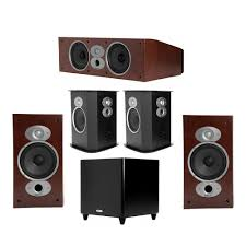 polk home theater speakers polk audio rti 5 1 cherry system with 2 a3 bookshelf speakers 1