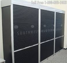 Industrial Shelving Units by Industrial Rolling Shelving Doors Locking Tambour Roll Up