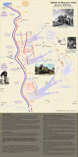 Battle Of Kursk Map Battle Of Moscow 1941 Campaigns Of World War Ii