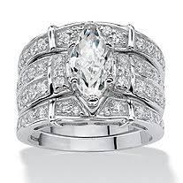 silver wedding ring sets wedding rings wedding ring sets cubic zirconia wedding rings