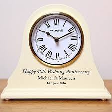 wedding clocks gifts 50th wedding anniversary gifts engraved 50th wedding anniversary