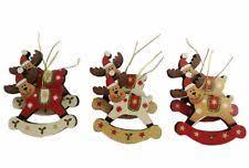 christmas tree reindeer ornaments ebay