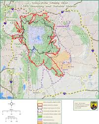 Yellowstone Map Usa by Yellowstone Grizzlies Are Back On The Threatened Species List